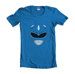 Blue Ranger Unisex Women T-shirt - Meh. Geek