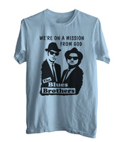 Blues Brothers We're On a Mission From God Men T-shirt / Men Tee
