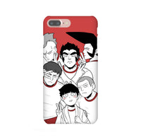 Body Improvement Club Members MP100 iPhone Snap or Tough Case