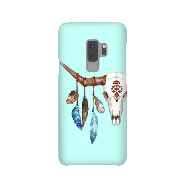Boho Bull Skull Samsung Galaxy Snap or Tough Case