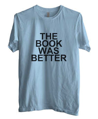 The Book Was Better Black Men T-shirt - Meh. Geek - 2