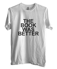 The Book Was Better Black Men T-shirt - Meh. Geek - 3