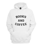 Books And Coffee Unisex Pullover Hoodie