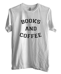 Books And Coffee black Ink Men T-shirt