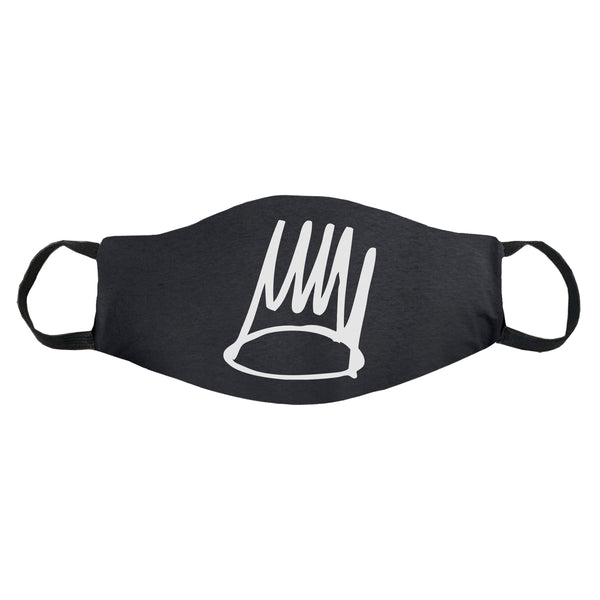 Born Sinner Crown 100% Cotton Face Mask