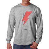 David Bowie Logo | Long Sleeve T-shirt for Men PA