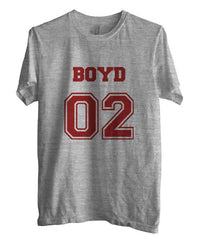 Boyd 02 on Front Beacon Hills Lacrosse Wolf Unisex Men T-shirt - Meh. Geek