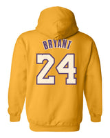 Bryant 24 On Back Unisex Pullover Hoodie Adult