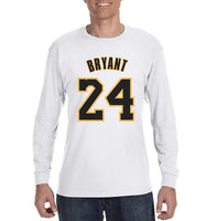 Bryant 24 Men Long Sleeve T-shirt Tee