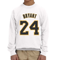 Bryant 24 Kid / Youth Crewneck Sweatshirt