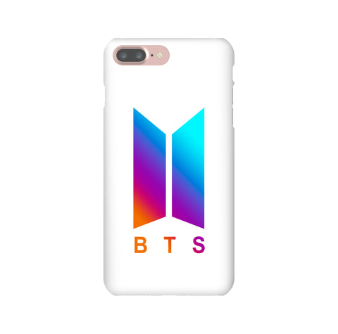 BTS Rainbow White K-pop iPhone, Samsung Galaxy, Google Pixel, LG Snap or Tough Phone Case