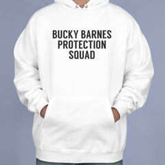 Bucky Barnes Protection Squad Unisex Pullover Hoodie