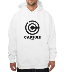 Capsule Corporation 1 Bulma Dragon Ball Unisex Pullover Hoodie