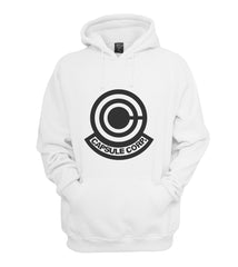 Capsule Corporation 2 Bulma Dragon Ball Unisex Pullover Hoodie - Meh. Geek