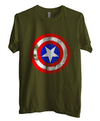 Captain America Logo Super Hero T-shirt Men - Meh. Geek - 2