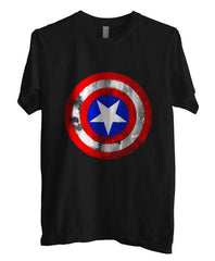 Captain America Logo Super Hero T-shirt Men - Meh. Geek - 3