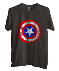 Captain America Logo Super Hero T-shirt Men - Meh. Geek - 4
