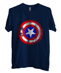 Captain America Logo Super Hero T-shirt Men - Meh. Geek - 1