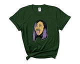 Cardi B 1 Cartoon Women T-shirt Tee