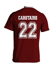 Carstairs 22 Idris University Men T-shirt Maroon - Meh. Geek - 3