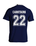 Carstairs 22 Idris University Men T-shirt Navy