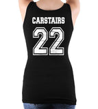 Carstairs 22 On BACK Idris University Women Tank Top