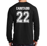 Carstairs 22 Idris University Long Sleeve T-shirt for Men Black - Meh. Geek - 3