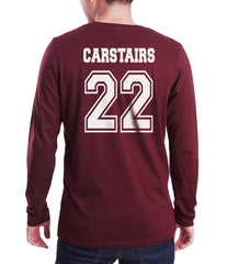 Carstairs 22 Idris University Long Sleeve T-shirt for Men Maroon - Meh. Geek - 3