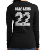 Carstairs 22 On BACK Idris University Long sleeve T-shirt for Women - Meh. Geek - 2