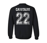 Carstairs 22 Idris University Unisex Crewneck Sweatshirt Black - Meh. Geek - 4