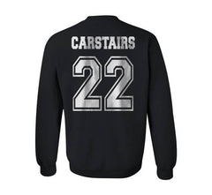 Carstairs 22 On BACK Idris University Unisex Crewneck Sweatshirt - Meh. Geek - 3