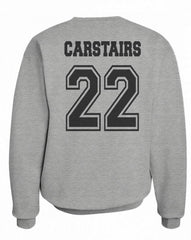 Carstairs 22 On BACK Idris University Unisex Crewneck Sweatshirt - Meh. Geek - 4
