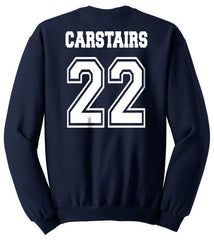 Carstairs 22 On BACK Idris University Unisex Crewneck Sweatshirt - Meh. Geek - 2