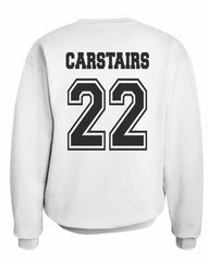 Carstairs 22 On BACK Idris University Unisex Crewneck Sweatshirt - Meh. Geek - 1