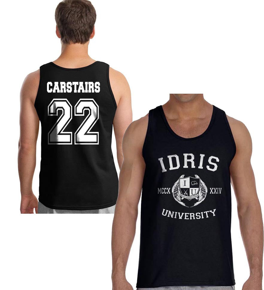 Carstairs 22 Idris University Men Tank Top Black