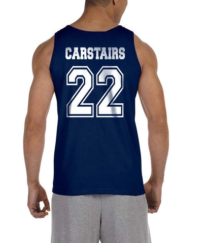 Carstairs 22 On BACK Idris University Men Tank Top