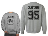 Carstairs 95 Idris University Unisex Crewneck Sweatshirt (Adult)