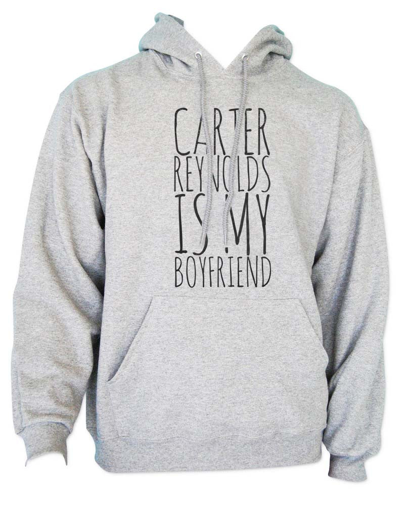 Carter Reynolds Is My Boyfriend Unisex Pullover Hoodie - Meh. Geek - 2