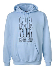 Carter Reynolds Is My Boyfriend Unisex Pullover Hoodie - Meh. Geek - 3