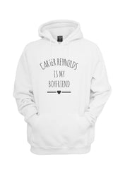 Carter Reynolds Is My Boyfriend LOVE Unisex Pullover Hoodie - Meh. Geek - 8