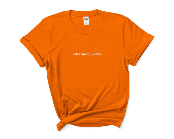 Channel Orange Blond Frank Ocean Women T-shirt Tee PA