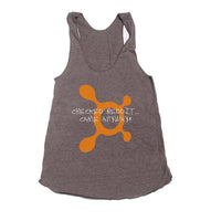 Checked Reddit.. Came Anyway OTF Triblend Racerback Women Tank Top