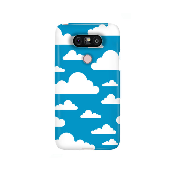 Clouds LG and Google Pixel Snap or Tough Phone Case