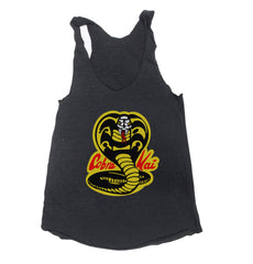 Cobra Kai Triblend Racerback Women Tank Top