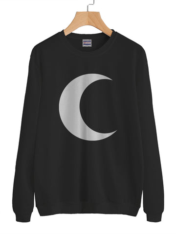Crescent Moon Unisex Crewneck Sweatshirt Adult