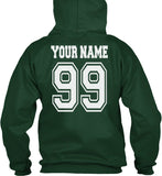 Customize - Old Slytherin CAPTAIN Quidditch Team Unisex Pullover Hoodie