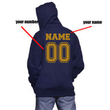 Customize - New Ravenclaw CAPTAIN Quidditch Team Unisex Pullover Hoodie Navy
