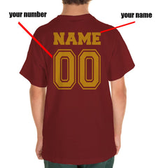 Customize - New Gryffindor CHASER Quidditch Team Kid / Youth T-shirt tee