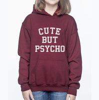 Cute But Psycho Kid / Youth Hoodie