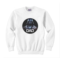 Darth Father Dad Vader Unisex Crewneck Sweatshirt - Meh. Geek